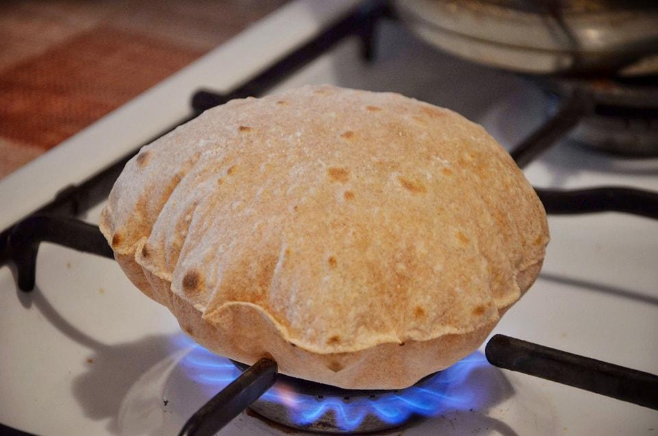 chapati din faina integrala