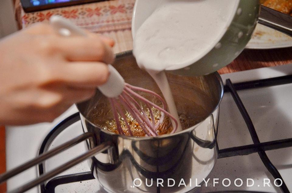 caramel vegan/de post, caramel din lapte de cocos