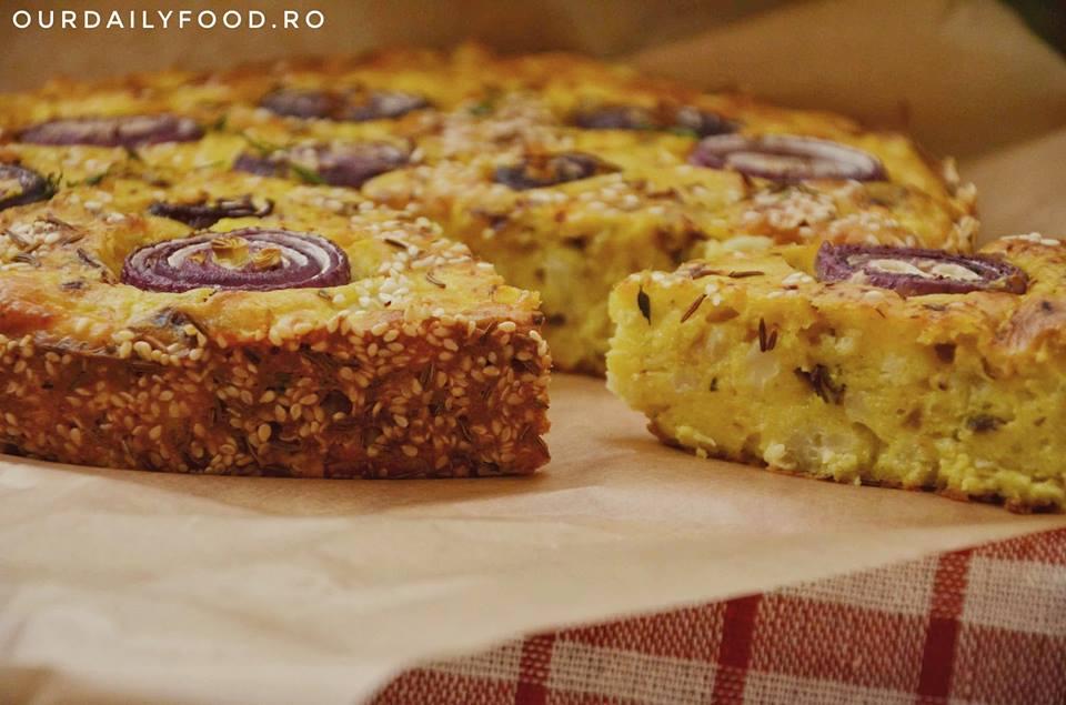 Tort sarat de conopida sau tarta din conopida
