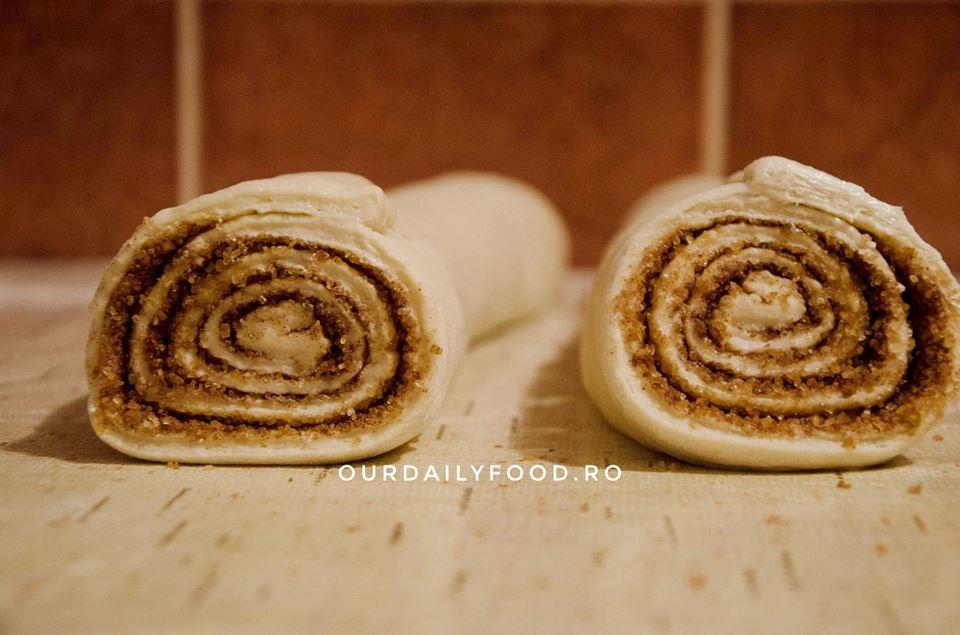 Melci cu scortisoara, rulouri cu scortisoara, cinnamon rolls