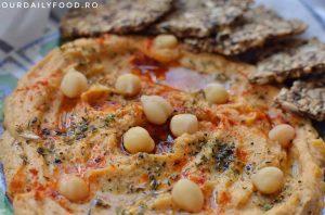 Reteta clasica de humus sau pasta de naut