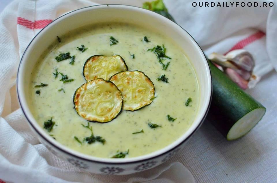 Supa crema de zuchini sau dovlecei