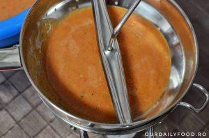 Gazpacho - supa cruda/rece de legume