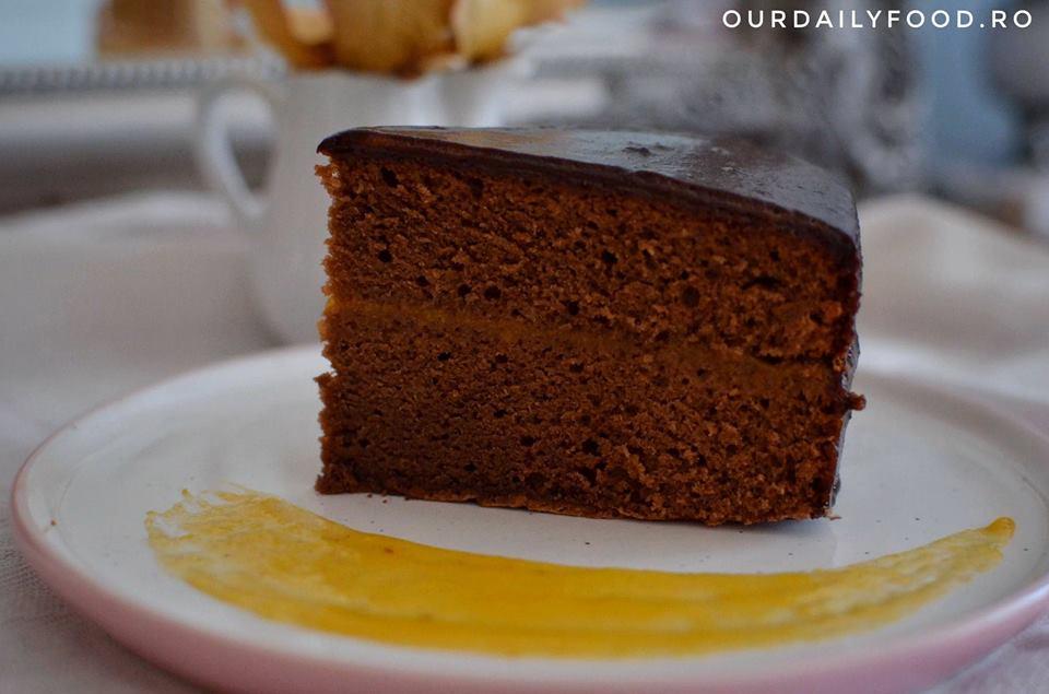 Reteta de tort Sacher sau Sachertorte