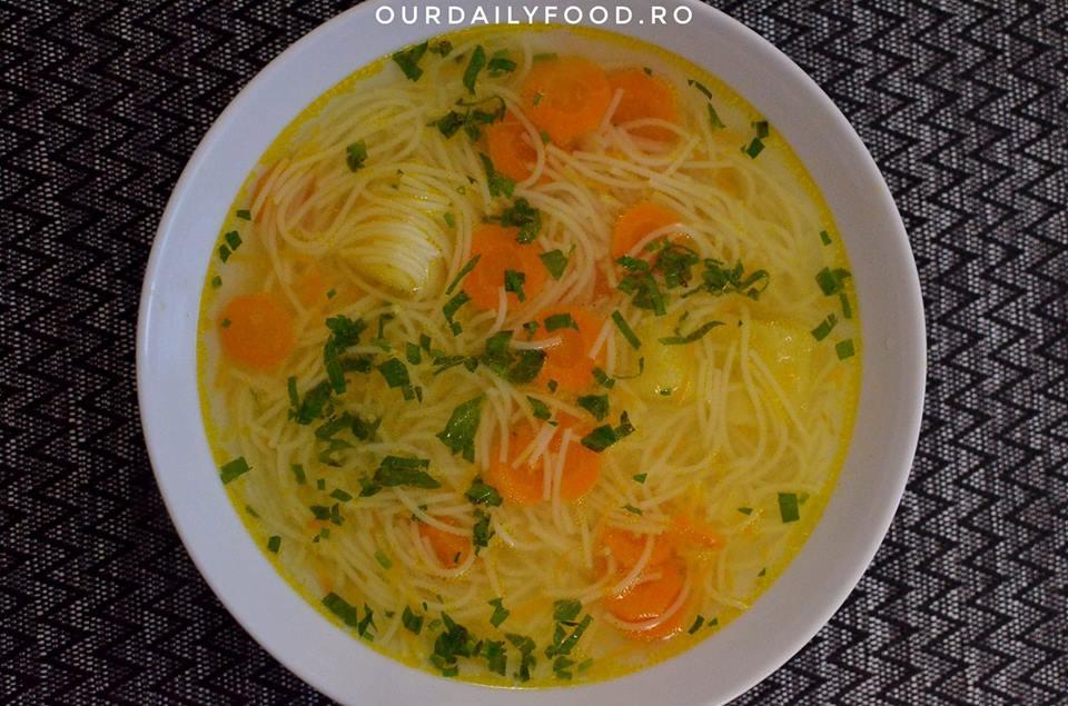 Supa de legume cu fidea