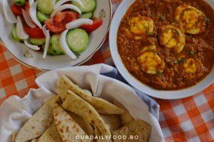 Curry de oua sau egg curry
