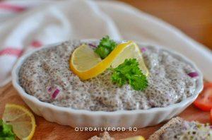 Icre vegetale din seminte de chia