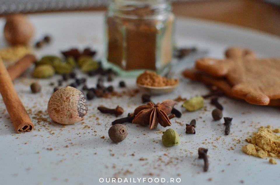 Amestec de condimente pentru turta dulce
