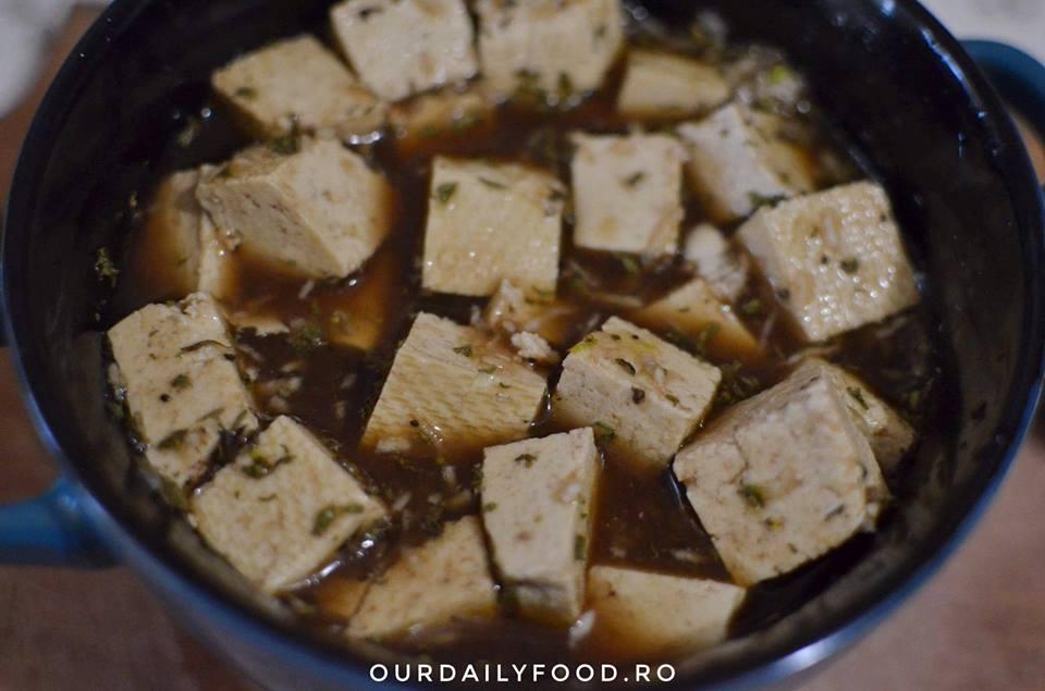Nuggets de tofu sau tofu bites