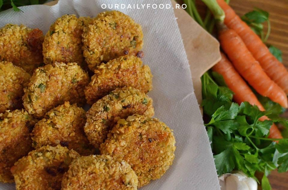 Chiftele cu legume la cuptor