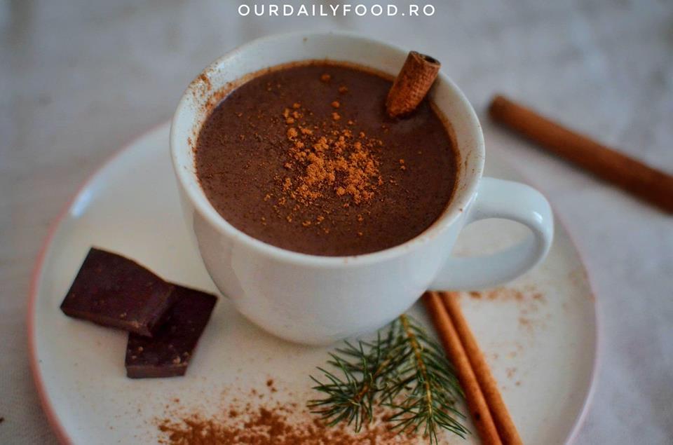 Ciocolata calda vegana in 3 variante