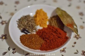 Curry de naut cu lapte de cocos