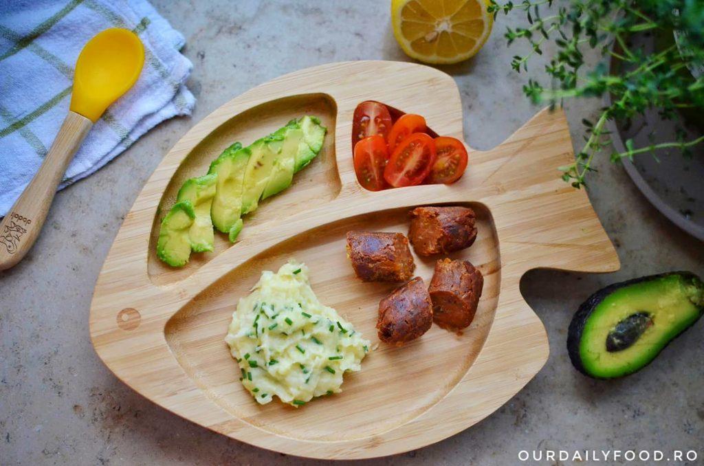 Carnaciori vegani din fasole si ciuperci