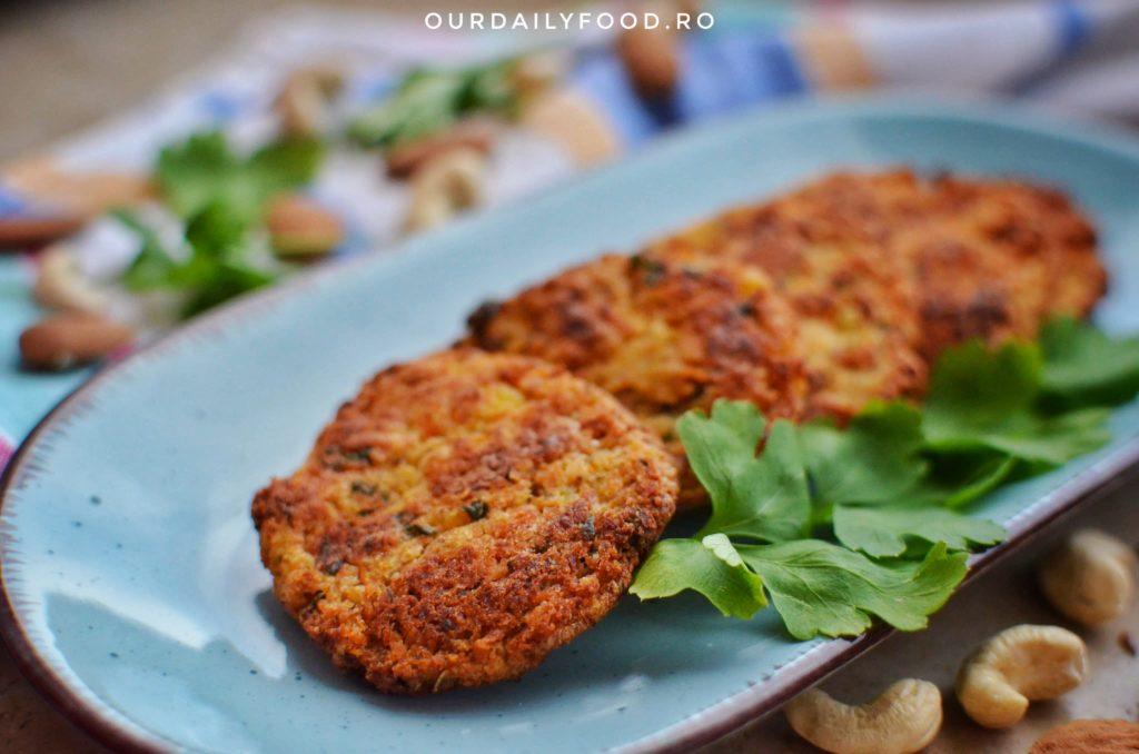 Chiftele de legume cu migdale si caju - vegan, fara gluten