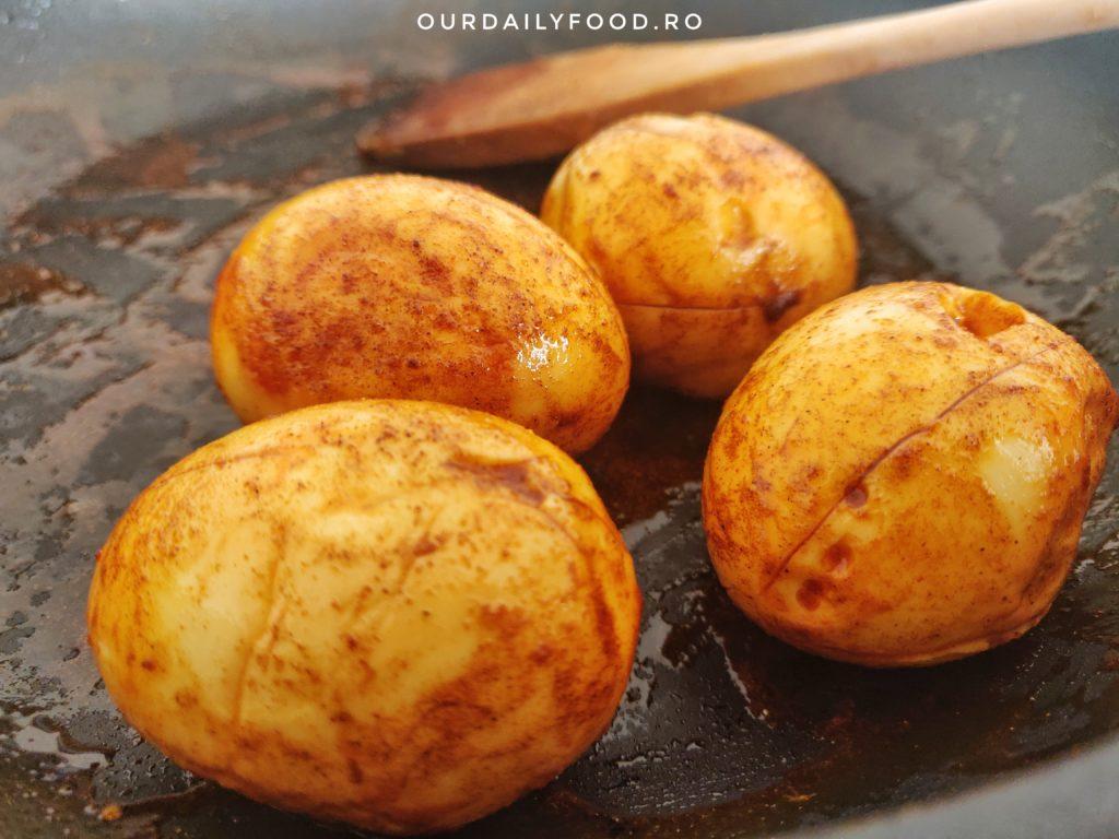 Curry delicios cu oua
